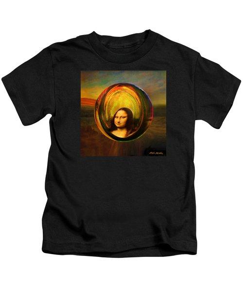 Mona Lisa Circondata Kids T-Shirt