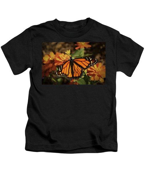 Monarch Spotlight. Kids T-Shirt