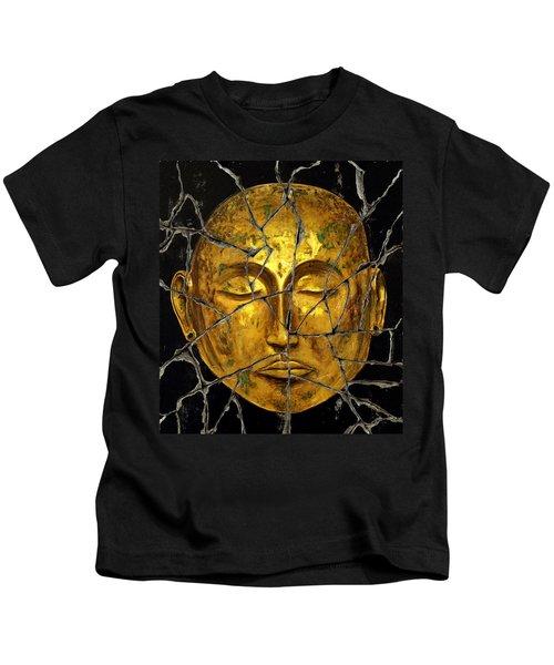 Monk In Meditation - Study No. 1 Kids T-Shirt