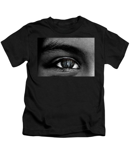 Moonlight In Your Eyes Kids T-Shirt