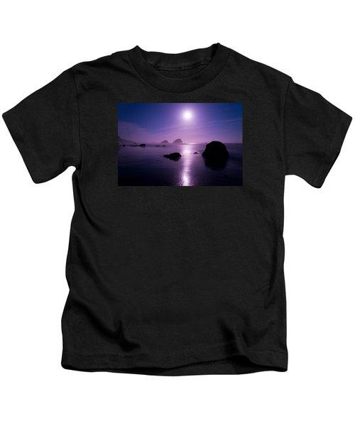 Moonlight Reflection Kids T-Shirt