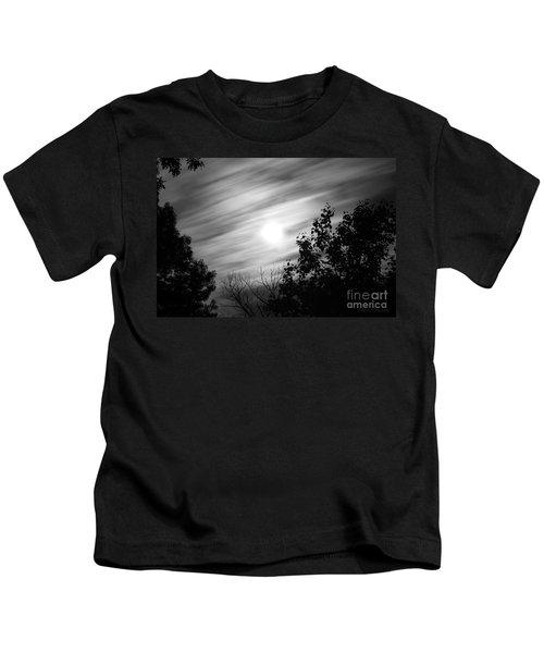 Moonlit Clouds Kids T-Shirt
