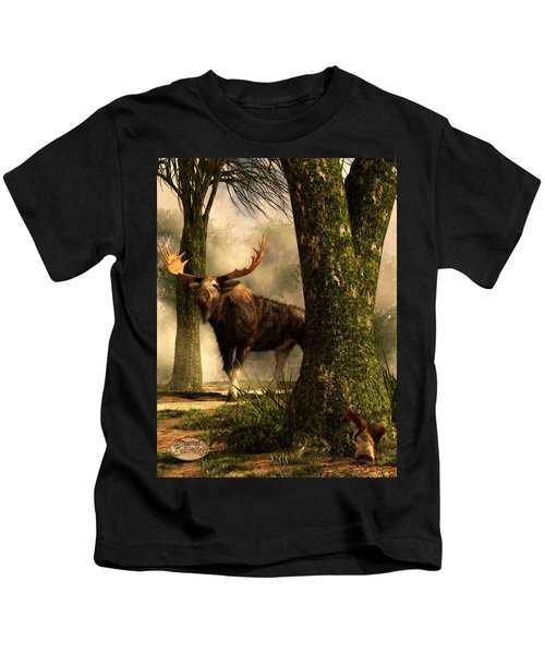 Moose And Squirrel Kids T-Shirt