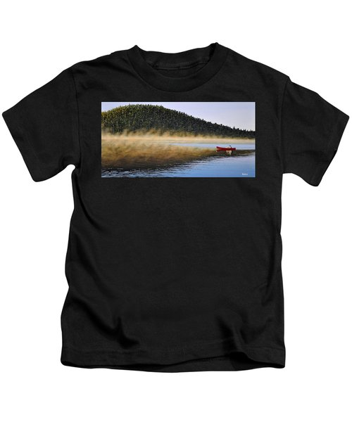 Moose Lake Paddle Kids T-Shirt