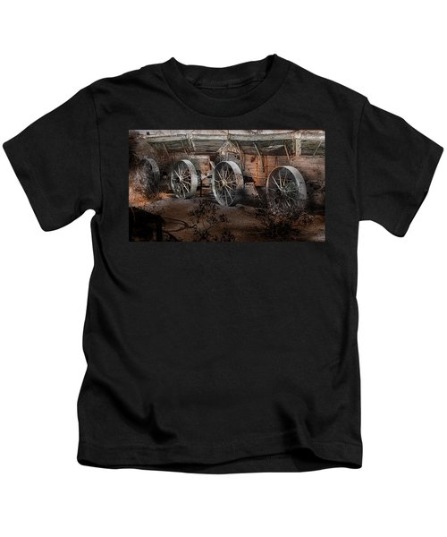 More Wagons East Kids T-Shirt