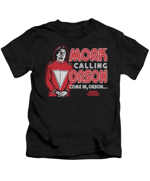 Mork And Mindy - Mork Calling Orson Kids T-Shirt