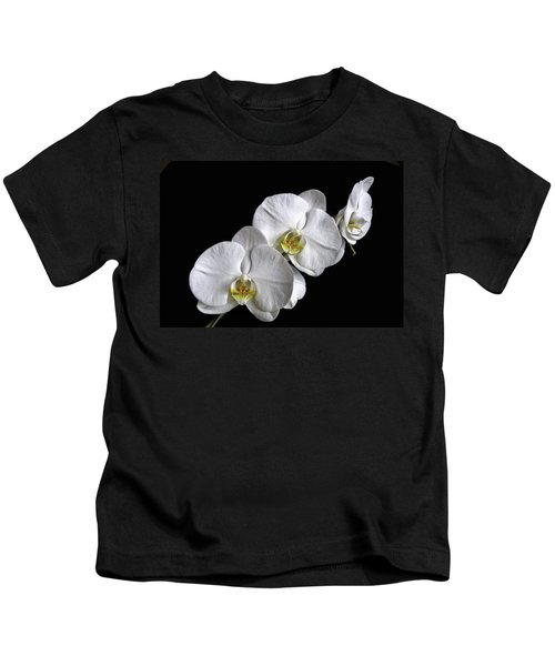 Moth Orchid Trio Kids T-Shirt
