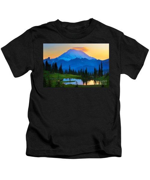 Mount Rainier Goodnight Kids T-Shirt