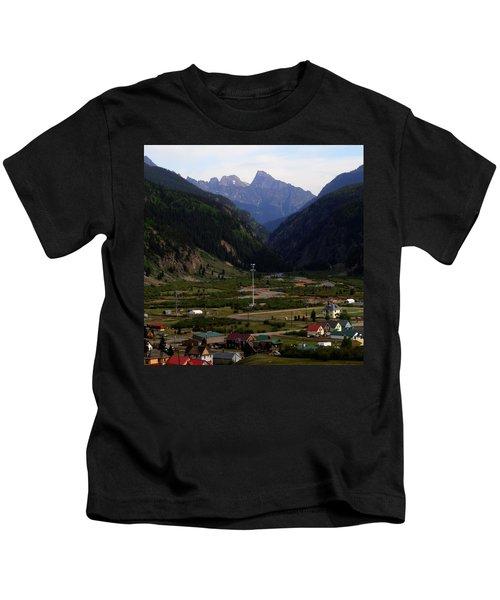 Mountain Village Silverton Colorado Kids T-Shirt