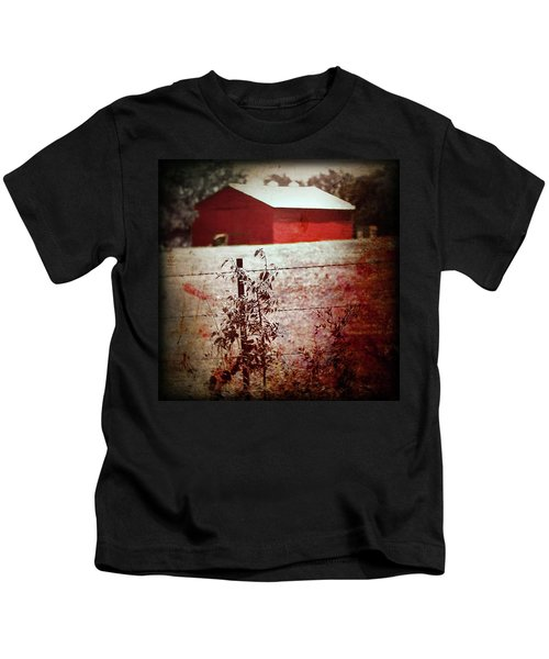 Murder In The Red Barn Kids T-Shirt