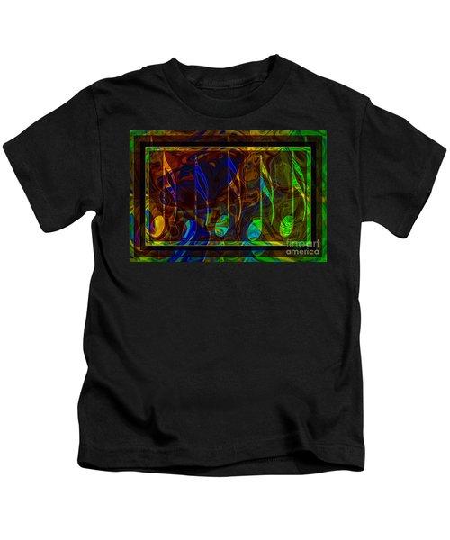 Music Is Magical Abstract Healing Art Kids T-Shirt