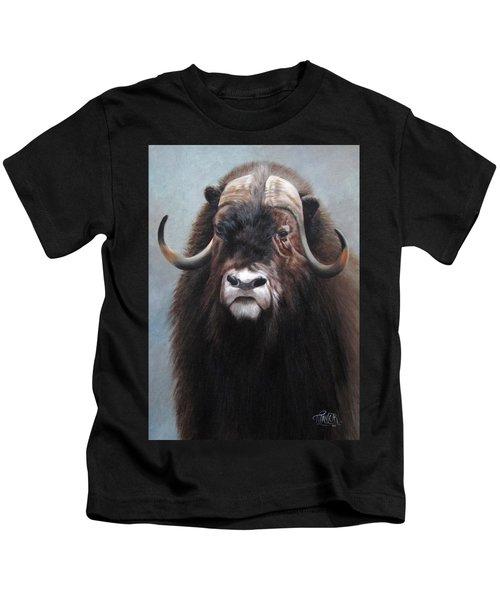 Musk Ox Kids T-Shirt