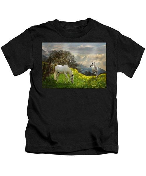 Mustard Reunion Kids T-Shirt