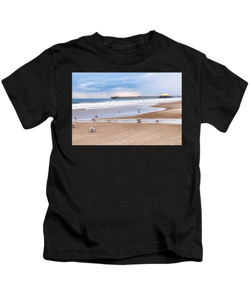 Myrtle Beach - Rainy Day Kids T-Shirt