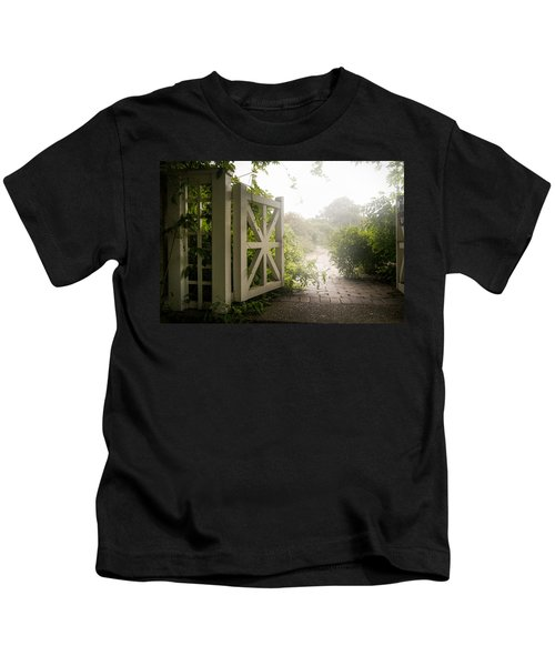 Mystic Garden - A Wonderful And Magical Place Kids T-Shirt