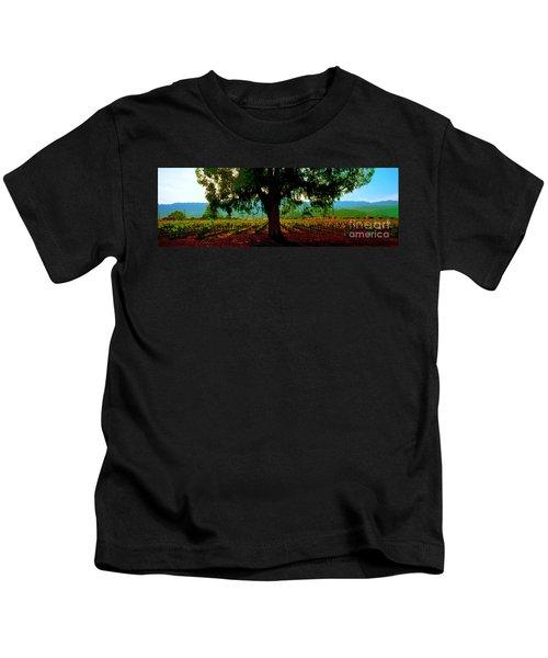 Napa Valley Winery Roadside Kids T-Shirt
