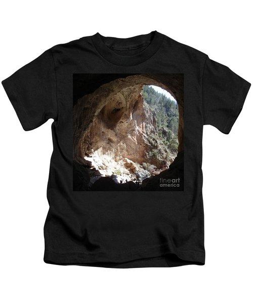 Natural Bridge View Kids T-Shirt