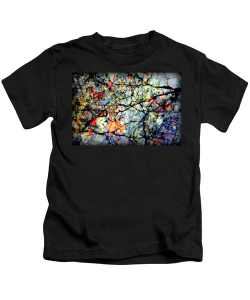 Natures Stained Glass Kids T-Shirt