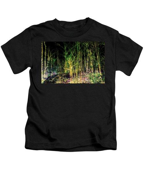 Negative Forest Kids T-Shirt
