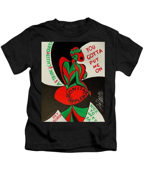 Never A Flaw Bonita Applebum Kids T-Shirt