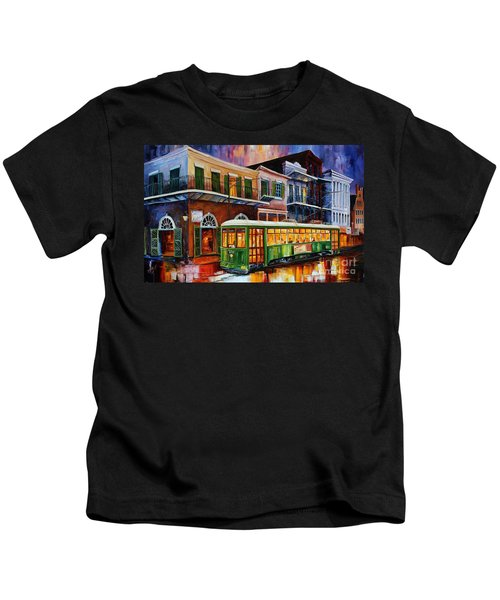 New Orleans Old Desire Streetcar Kids T-Shirt