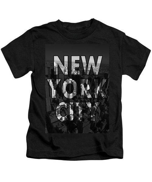 New York City - Black Kids T-Shirt