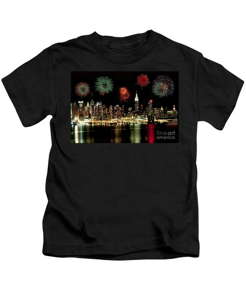 New York City Fourth Of July Kids T-Shirt