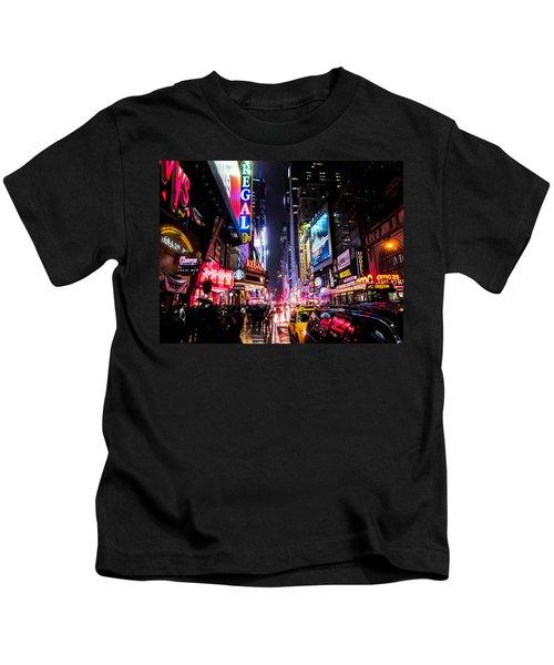 New York City Night Kids T-Shirt