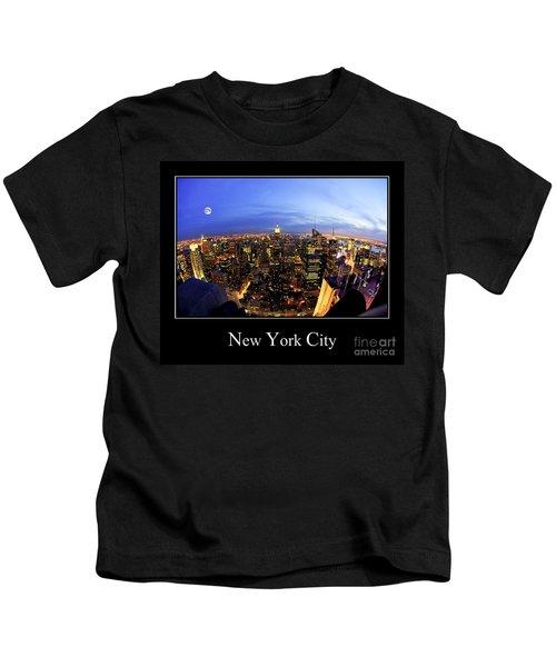 New York City Skyline Kids T-Shirt