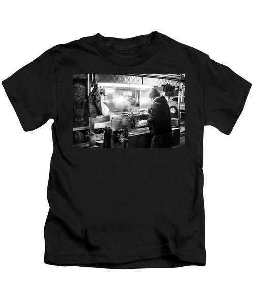 New York City Street Vendor Kids T-Shirt