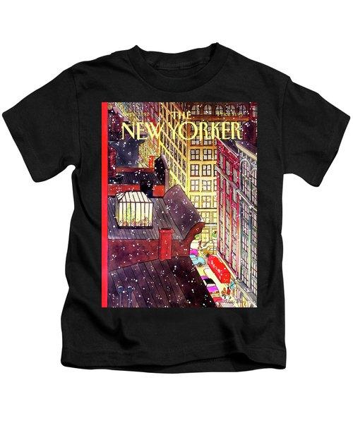 New Yorker December 7th, 1992 Kids T-Shirt