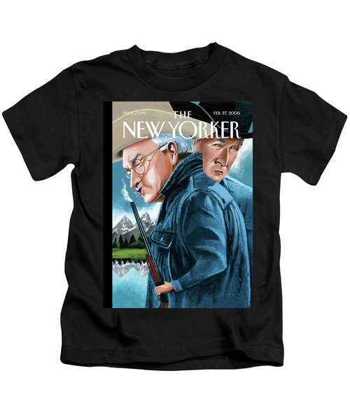 New Yorker February 27th, 2006 Kids T-Shirt