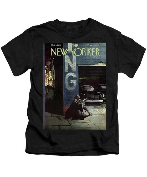 New Yorker October 5th, 1957 Kids T-Shirt