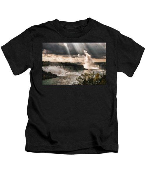 Niagra Falls Kids T-Shirt