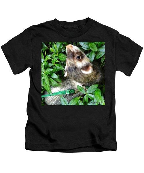 Nicky In The Garden Kids T-Shirt