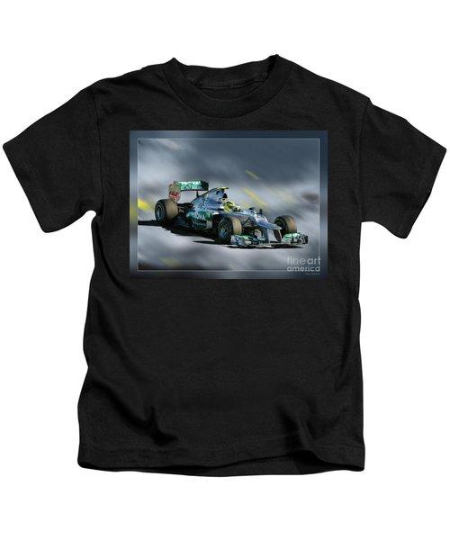 Nico Rosberg Mercedes Benz Kids T-Shirt