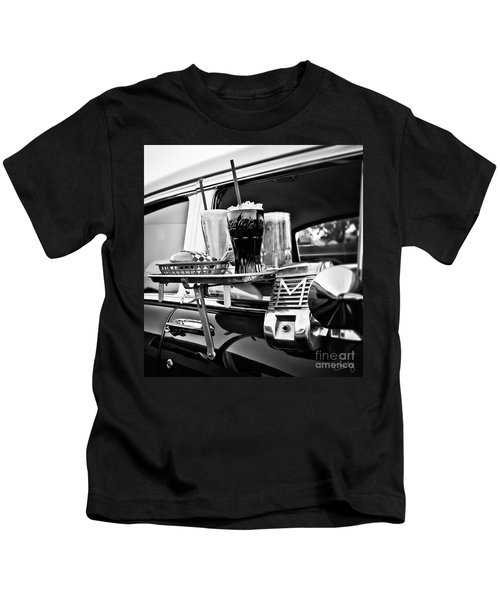Night At The Drive-in Movies Kids T-Shirt