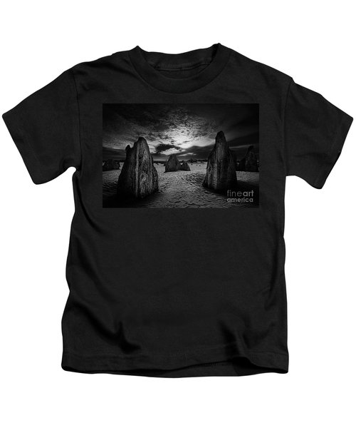Night Comes Slowly Kids T-Shirt