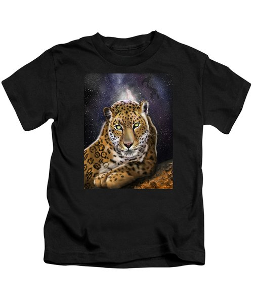 Fourth Of The Big Cat Series - Leopard Kids T-Shirt