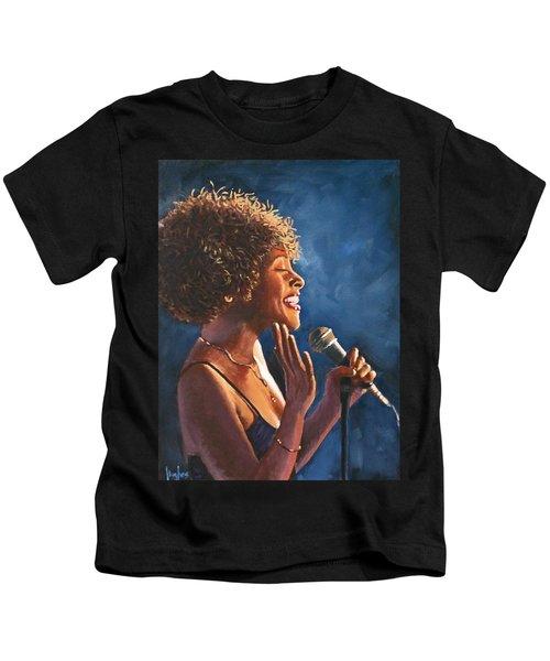 Nightclub Singer Kids T-Shirt