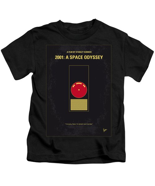 No003 My 2001 A Space Odyssey 2000 Minimal Movie Poster Kids T-Shirt