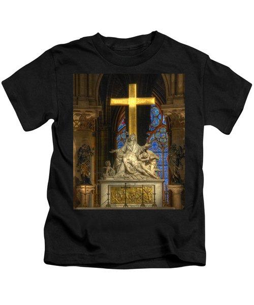 Notre Dame Pieta Kids T-Shirt