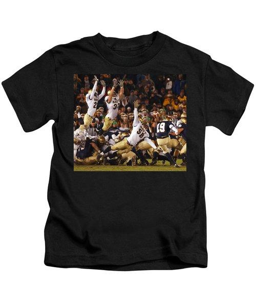 Notre Dame Versus Navy Kids T-Shirt