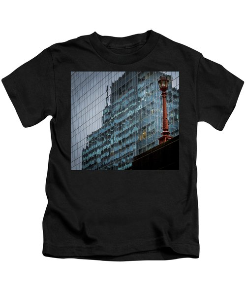 Ny Reflections With Lamp Kids T-Shirt