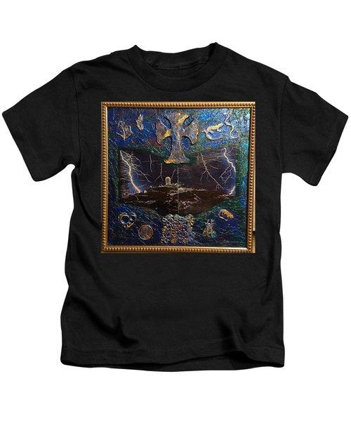Observatory Life By Alfredo Garcia Kids T-Shirt