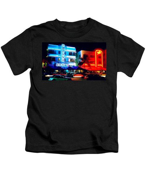 Ocean Drive Polaroid  Kids T-Shirt