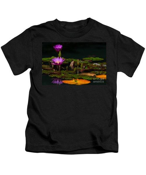 October Lilies 2 Kids T-Shirt