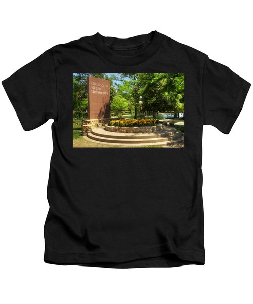Oklahoma State University Kids T-Shirt