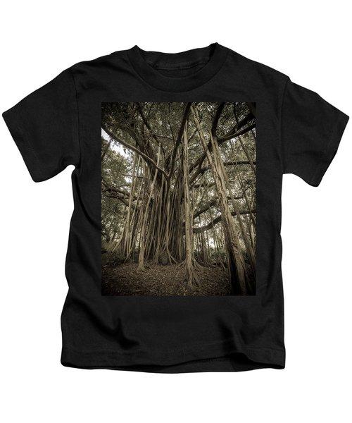 Old Banyan Tree Kids T-Shirt