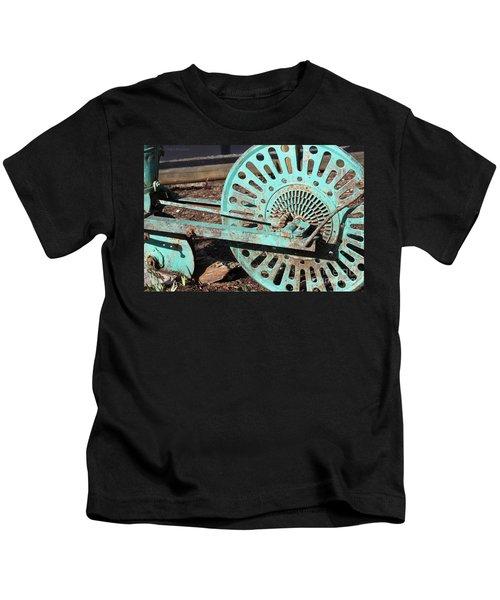 Old Farm Equipment Kids T-Shirt